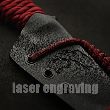 [Knivez Custom]  Wander Tactical 로고작업