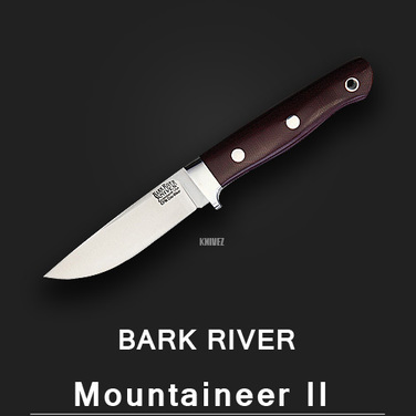 [Bark River] Mountaineer II Burgundy / Cru-Wear