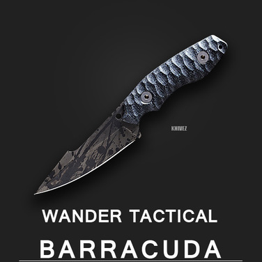 [WanderTactical] Barracuda / Black Blood Finish
