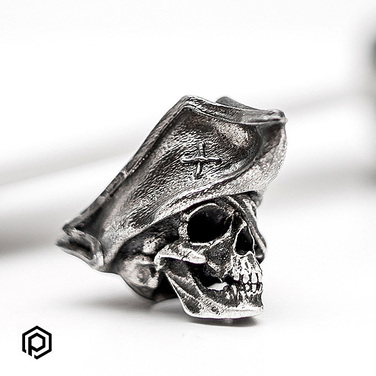 [ParanoiaMetalwork] Pirate Skull - Sterling Silver 925