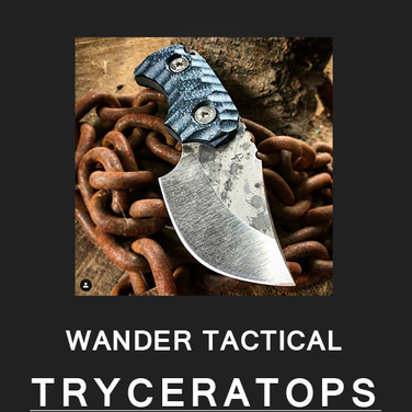 [WanderTactical] Tryceratops / Black Blood Finish