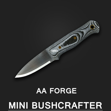 [AA Forge] Mini Bushcrafter / 카본+마이칼타