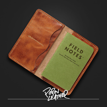 [Popov Leather] Field Notes Cover 잉글리쉬탄 [필드노트 증정]
