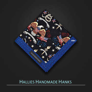 [Hallies Handmade Hanks]  Don't tread on me