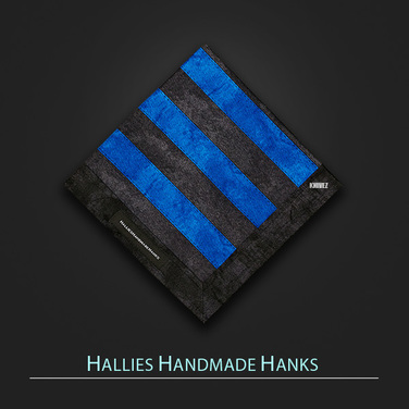 [Hallies Handmade Hanks]  Thin Blue Line Police Lives Matter