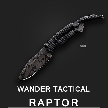 [WanderTactical] Raptor / Black Blood Finish