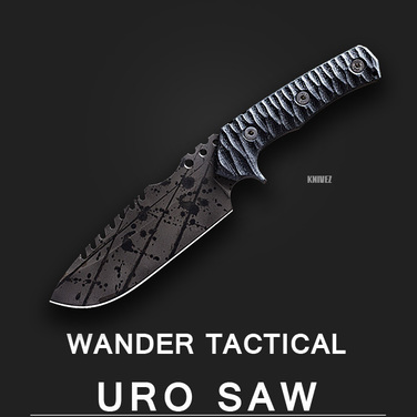 [WanderTactical] Uro Saw / Black Blood Finish