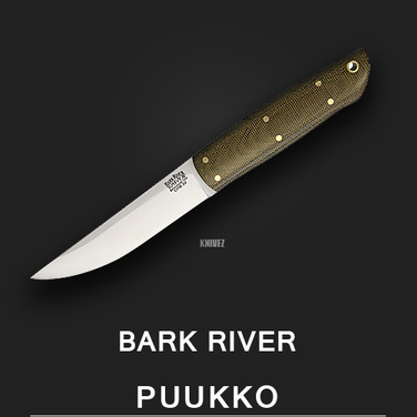 [Bark River] Puukko Green / CPM 3V