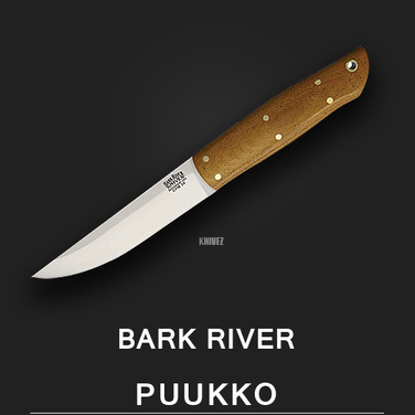 [Bark River] Puukko Natural / CPM 3V