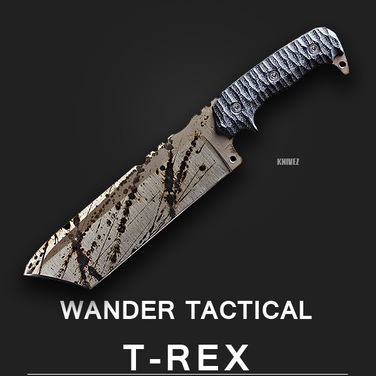 [WanderTactical] T-Rex / Black Blood Finish