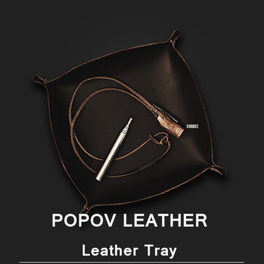 [Popov Leather] Valet Tray - 에스프레소
